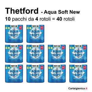 thetford carta igienica idrosolubile per camper 40 rotoli