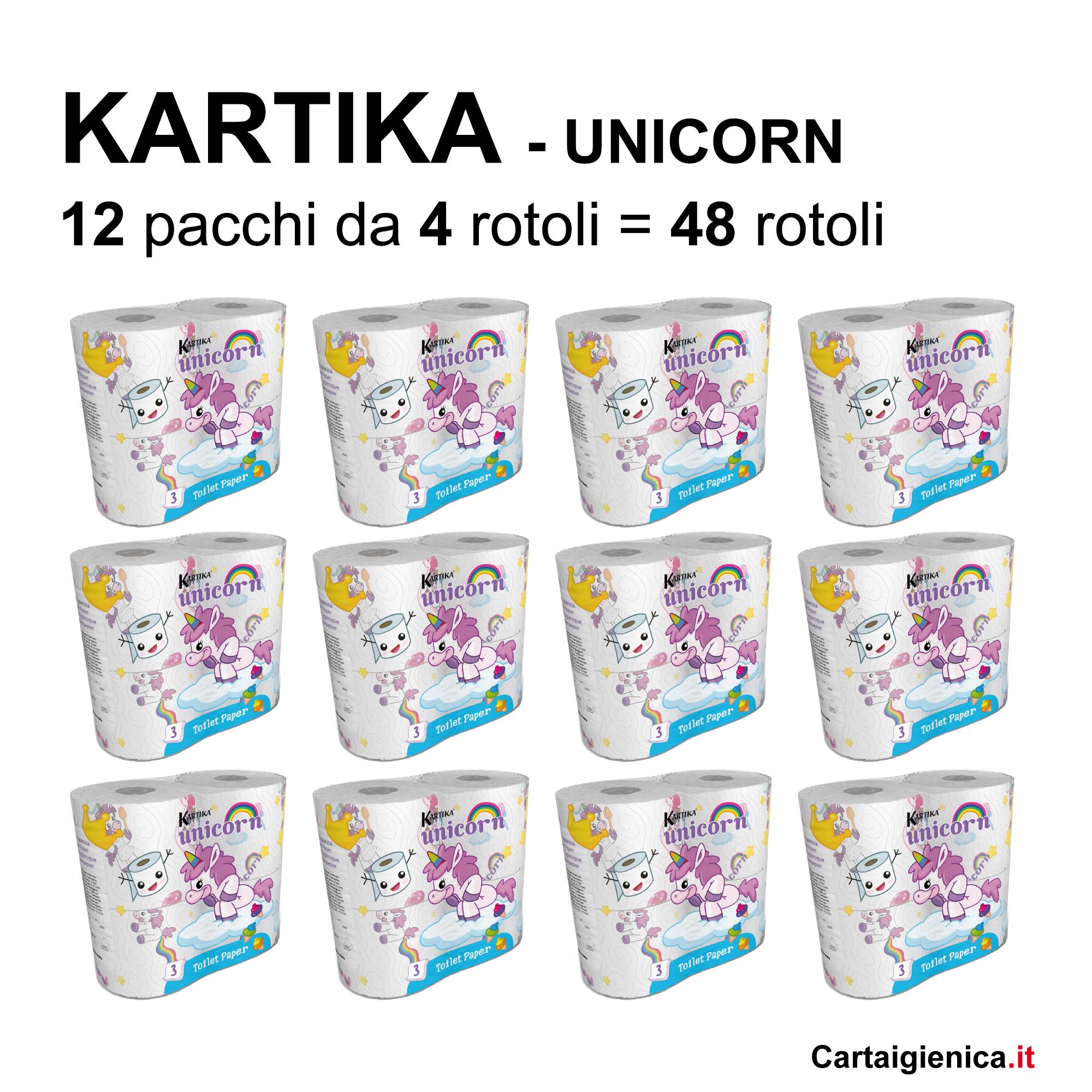 carta igienica unicorn kartika style unicorno offerta bambini
