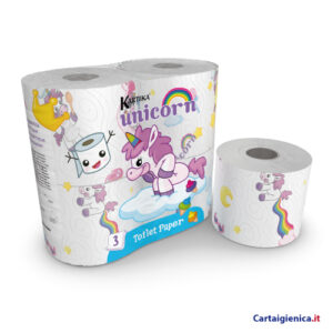 Carta igienica unicorn kartika style