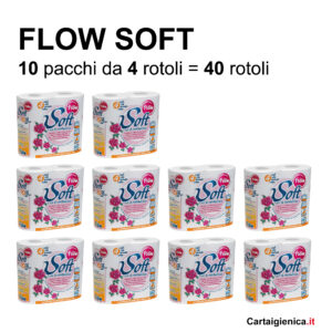 carta igienica flow soft idrosolubile camper