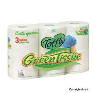 toffly carta igienica green 6 rotoli