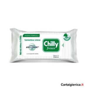 chilly fresco salviettine intime anti odore offerta