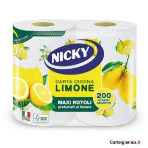 nicky-carta-cucina-limone-maxi-rotoli-offerta