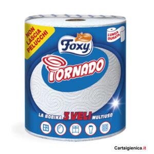 foxy tornado carta cucina bobina milleusi 1 rotolo