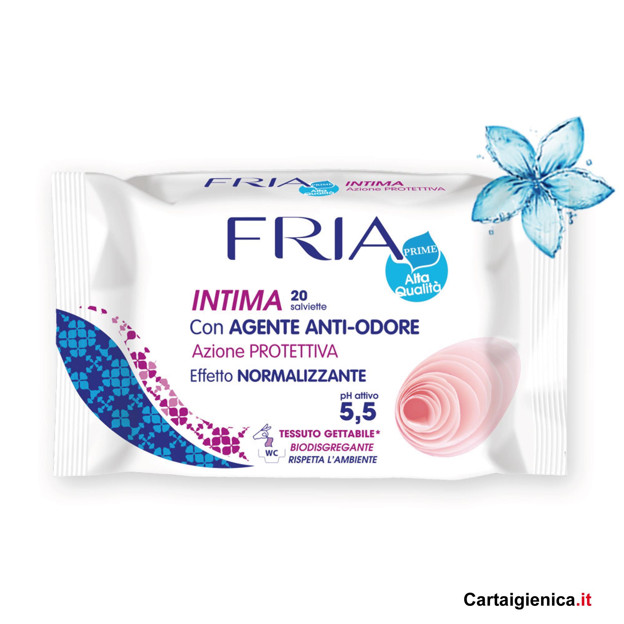 fria salviette anti odore con azione protettiva