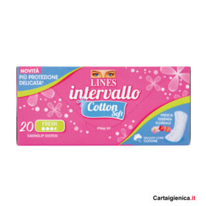 lines intervallo cotton soft proteggi slip