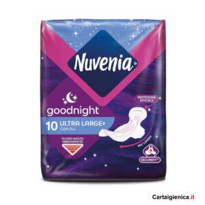 nuvenia assorbente notte con le ali goodnight 1 pacco 10 pezzi