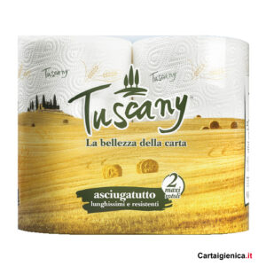 tuscany carta cucina asciugatutto 2 rotoli