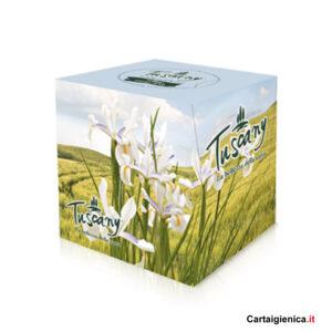 tuscany veline essenza di iris cubo fazzoletti