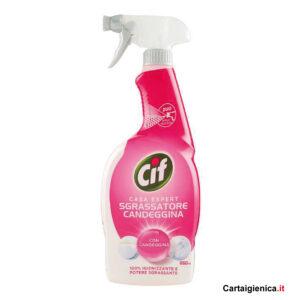cif sgrassatore candeggina igienizzante spray 650 ml