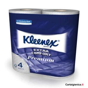 kleenex carta igienica extra confort premium 1 pacco 4 rotoli
