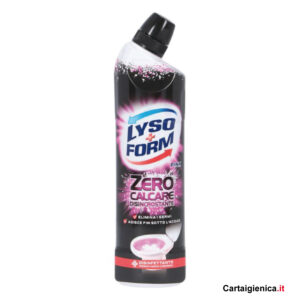 Lysoform Zero Calcare Disincrostante WC Pink - 750 ml.