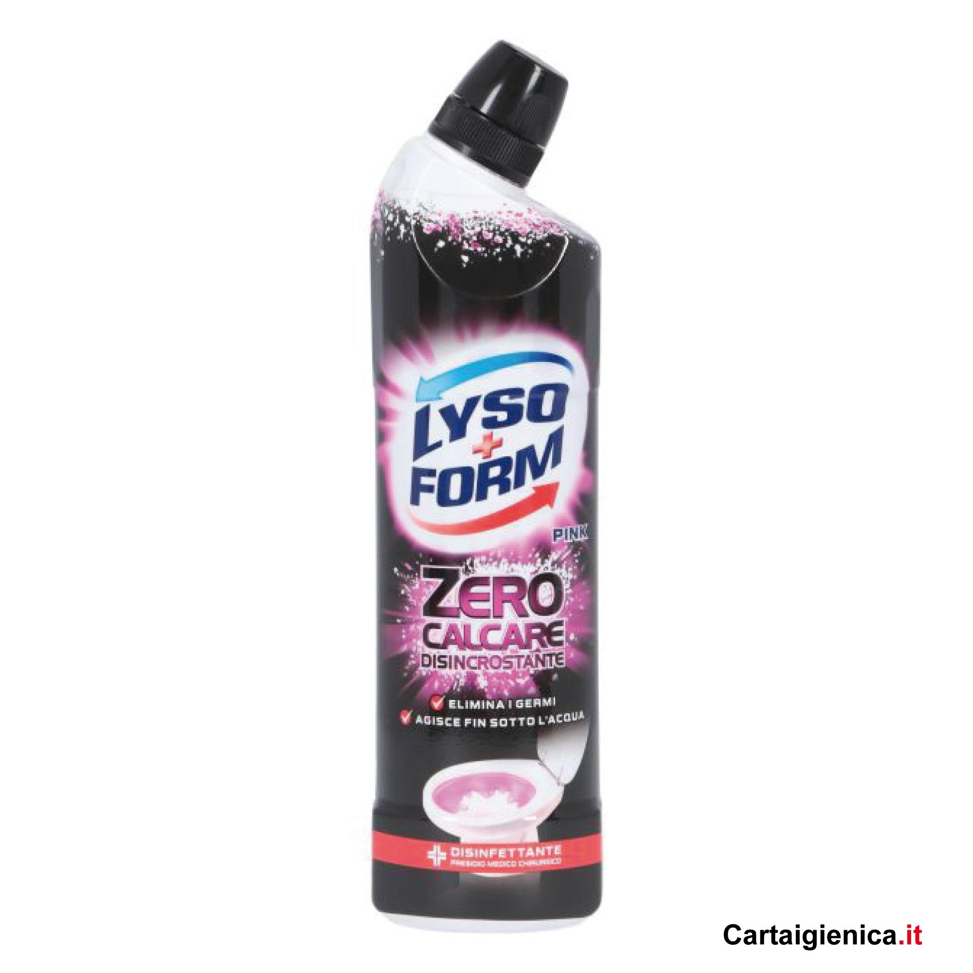 Incrostazioni Di Calcare Nel Wc lysoform zero calcare disincrostante 750 ml