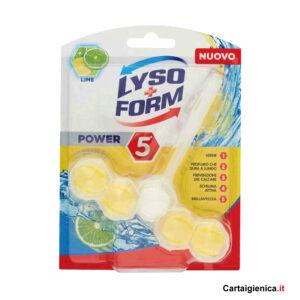 lysoform tavoletta wc protezione water profumo lime
