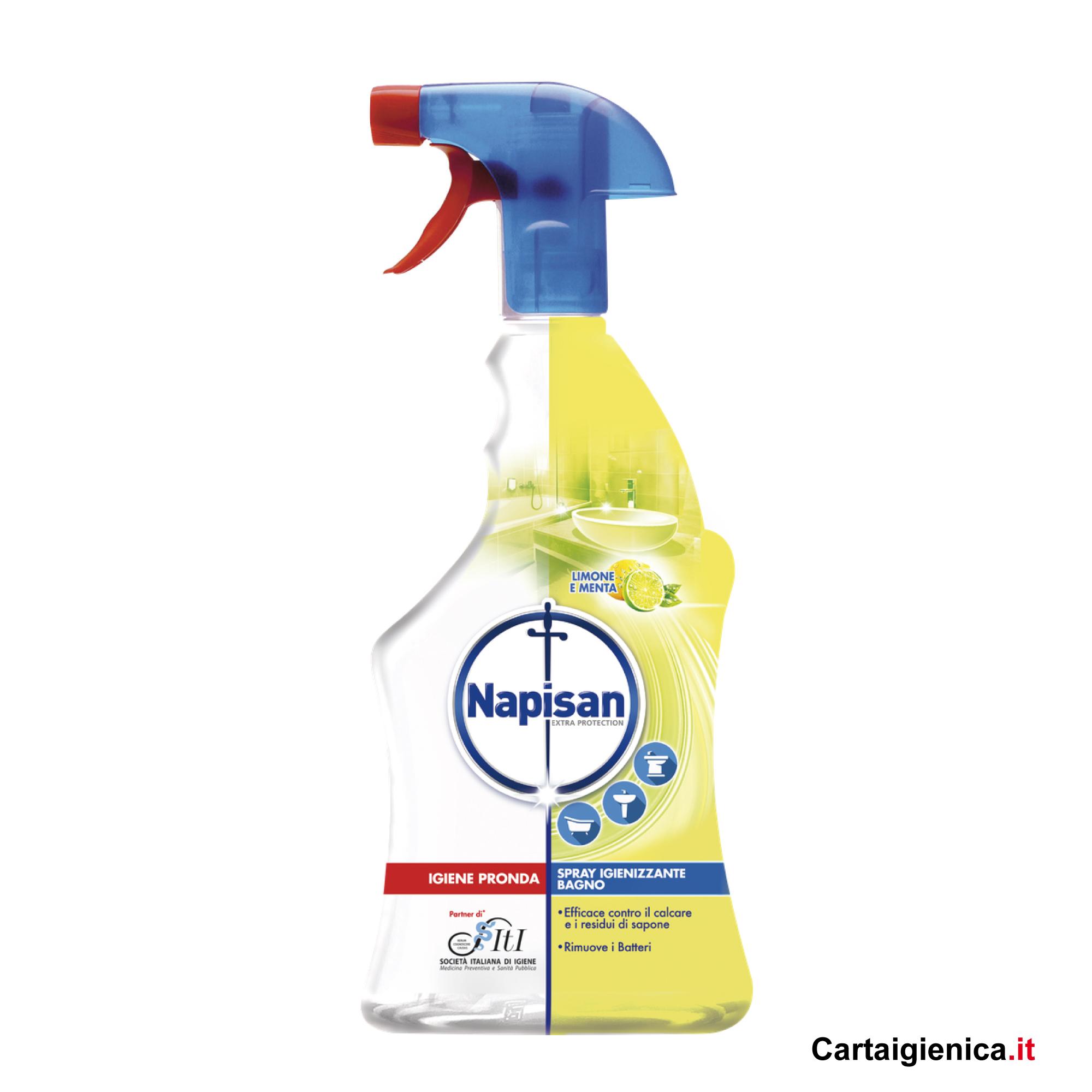 Napisan Igiene Profonda Spray Igienizzante Limone e Menta 500 ml