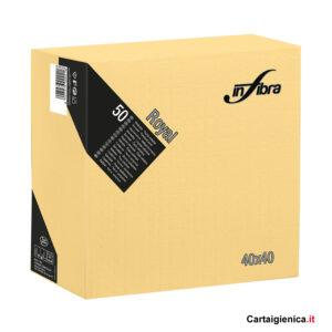 infibra-tovaglioli-royal-crema-4-veli-40-x-40-cm