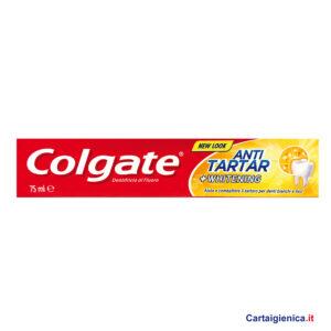 Colgate Dentifricio Antitartaro 75 ml. Aiuta a rimuovere le macchie e combattere il tartaro