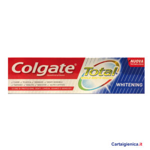 Colgate Dentifricio Total Whitening 75 ml.