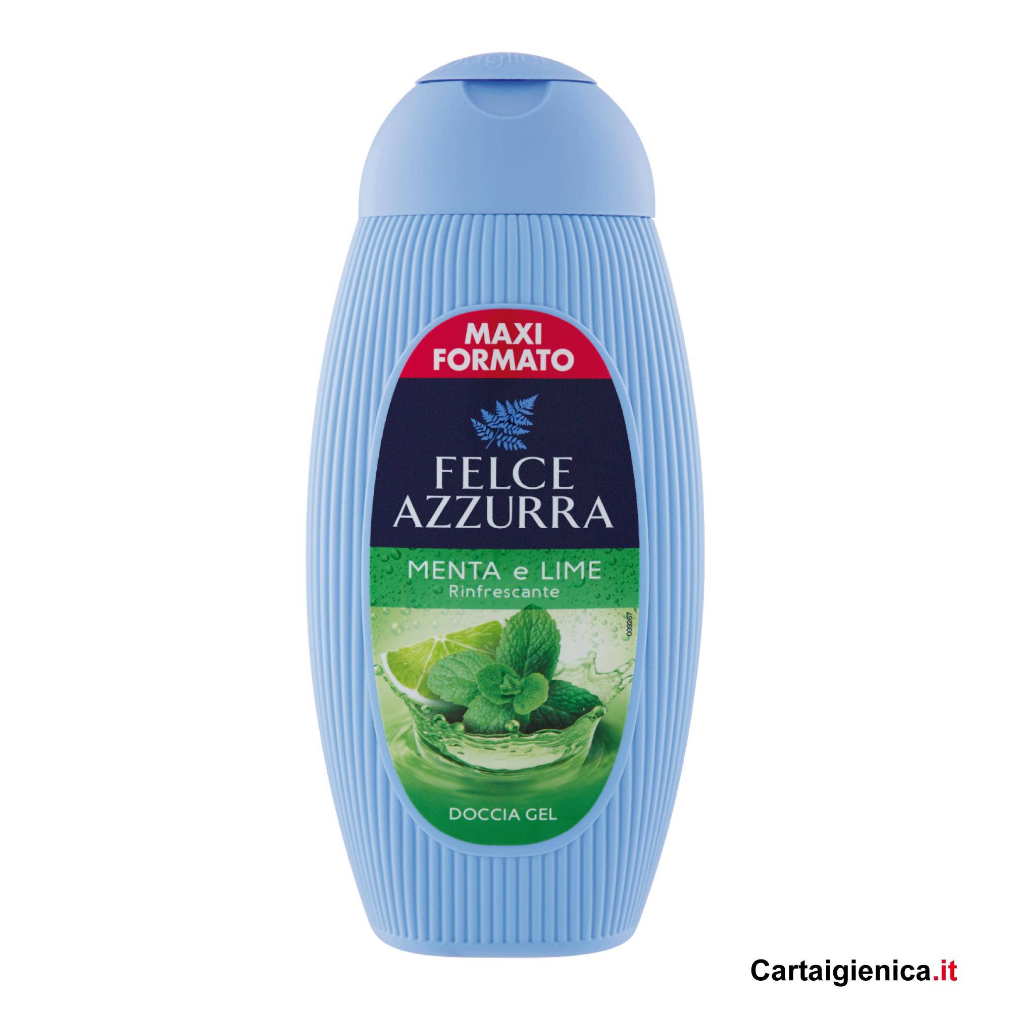 felce azzurra doccia gel menta e lime 400 ml