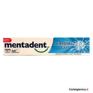 Mentadent Dentifricio Crystal Gel 75 ml