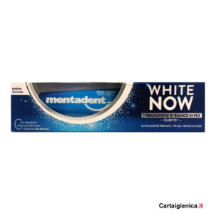 Mentadent Dentifricio White Now Classico 75 ml