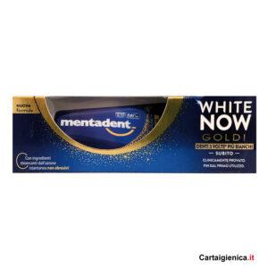 Mentadent Dentifricio White Now Gold 50 ml