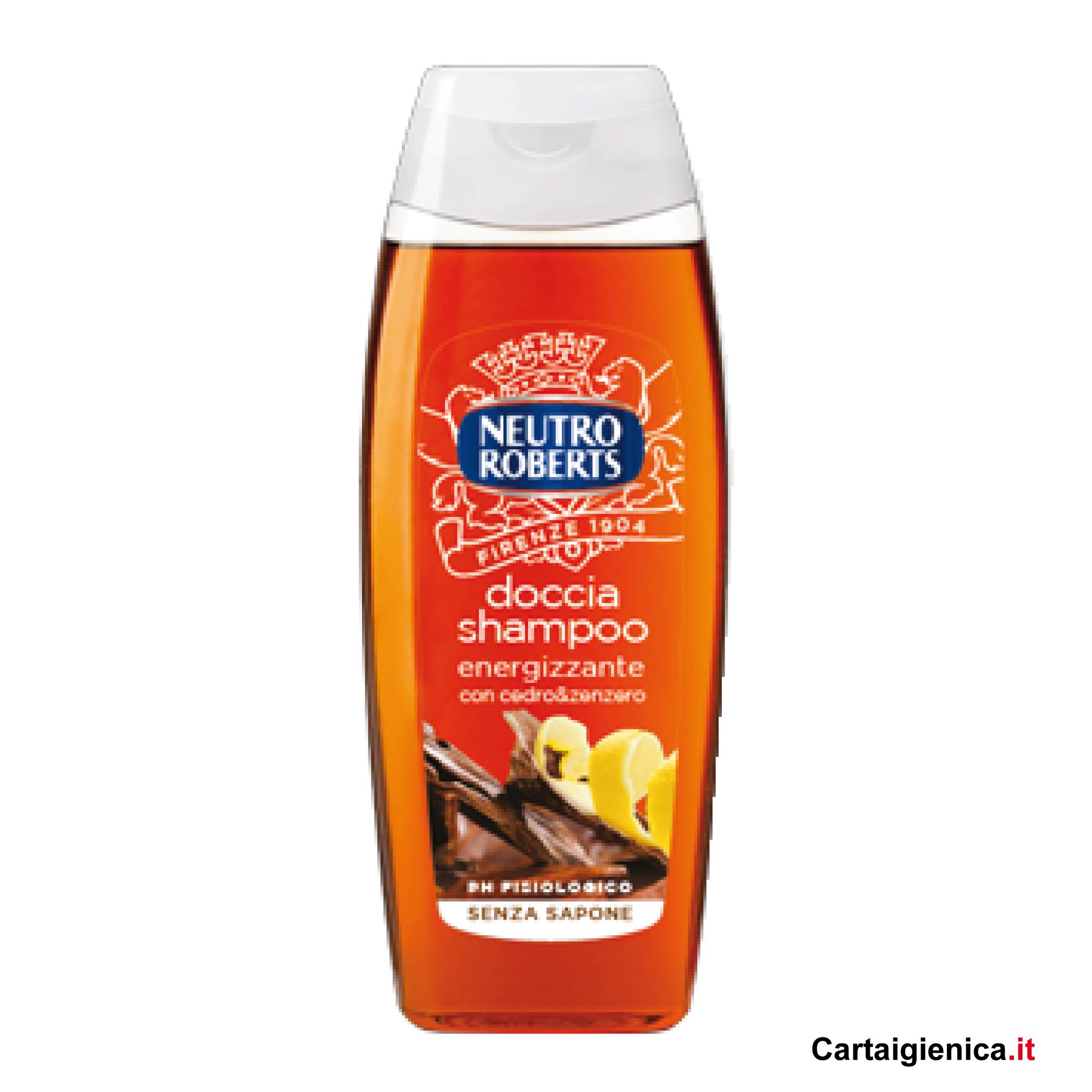 neutro roberts doccia shampoo energizzante