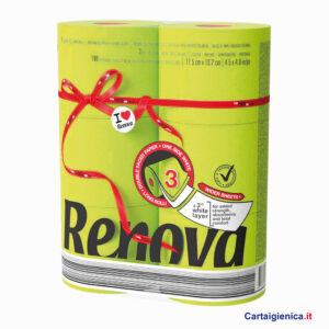 renova carta igienica colorata verde 6 rotoli cartaigienica.it