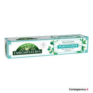 antica erboristeria dentifricio purificante 75 ml menta eucalipto