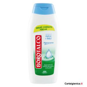 borotalco bagnodoccia talco e felci 700 ml