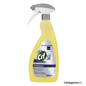 cif professional 10 e lode elimina inchiostro colla grasso 750 ml spray