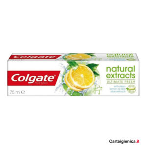 colgate dentifricio natural extracts ultimate fresh 75 ml