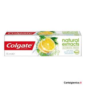 colgate dentifricio natural extracts ultimate fresh 75 ml