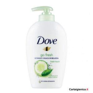 dove sapone liquido detergente cremoto te verde cetriolo 250 ml