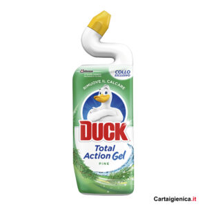 duck total action fragranza pino pulizia wc 750 ml