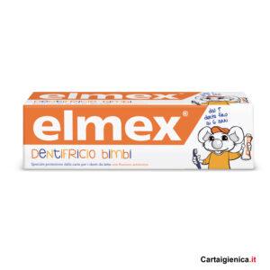 Elmex dentifricio bimbi 0-6 anni prevenzione 50 ml