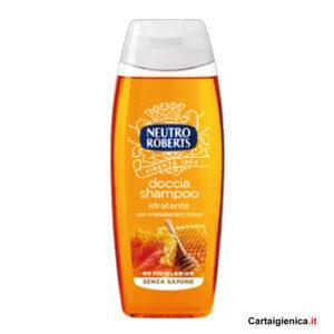 neutro roberts doccia shampo idratante 250 ml con miele e acero