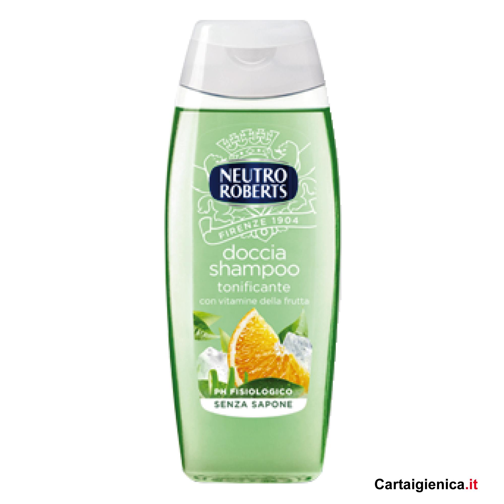 neutro roberta doccia shampo tonificante 250 ml