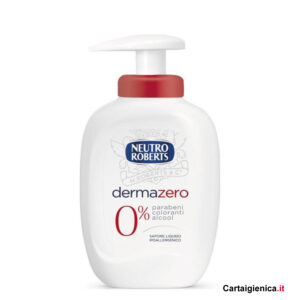neutro roberts sapone liquido dermazero 300 ml