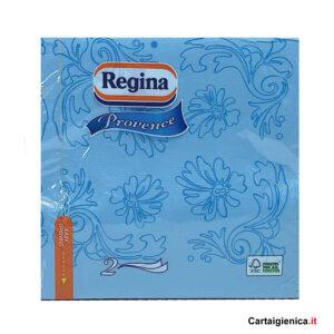 regina 44 tovaglioli colorati provence azzurro 38x38 cm 2 veli tavola arredo