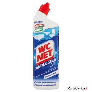 wc net candeggina gel protezione wc anticalcare ocean fresh 700 ml