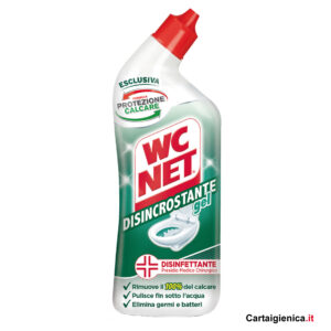 wc net disincrostante gel disinfettante wc anticalcare 700 ml