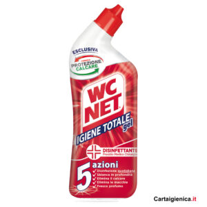 wc net gel igiene totale wc 5 azioni disinfettante 700 ml