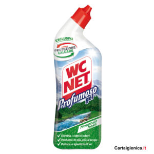 wc net profumoso mountain fresh gel protezione wc anticalcare