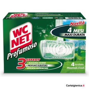 wc net tavoletta igienizzante wc profumoso mountain fresh