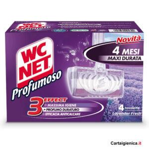 wc net tavoletta igienizzante wc profumoso lavander fresh