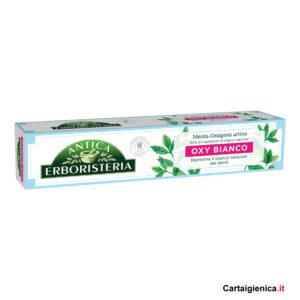 antica erboristeria dentifricio oxi bianco 75 ml