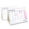 calendario 2021 tavolo caselle scrivania ufficio appunti light