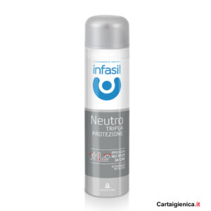 infasil deodorante neutro tripla azione spray 150 ml
