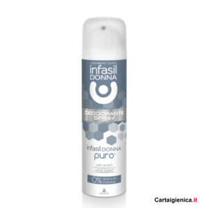 infasil donna deodorante spray puro 150 ml